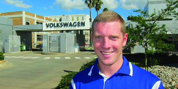 Jacques Du Plessis shares his passion for working at Volkswagen South Africa!