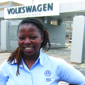 Sinazo Cebisa shares her passion for working at Volkswagen South Africa!